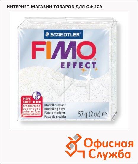 фото: Полимерная глина Fimo Effect белая 57г