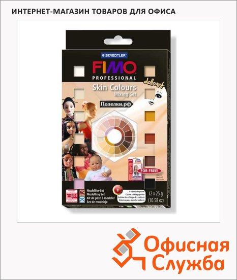 фото: Набор полимерной глины Professional Doll Art Телесные цвета 25цв x25г