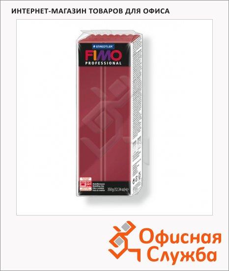 фото: Полимерная глина Fimo Professional бордовая 350г
