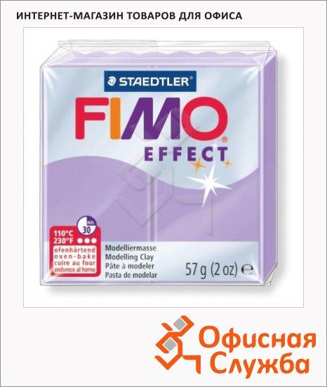 фото: Полимерная глина Fimo Effect лиловая пастель 57г
