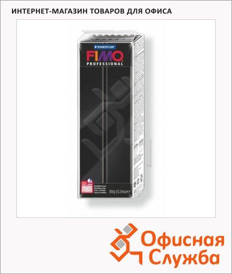 фото: Полимерная глина Fimo Professional черная 350г