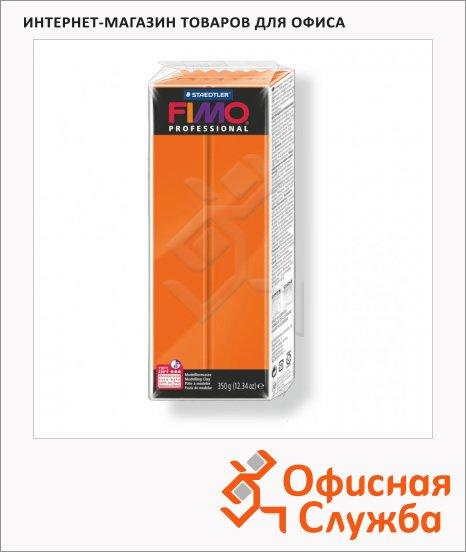 фото: Полимерная глина Fimo Professional оранжевая 350г