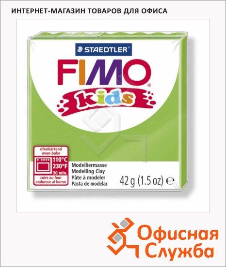 Полимерная глина Fimo Kids светло-зеленая, 42г