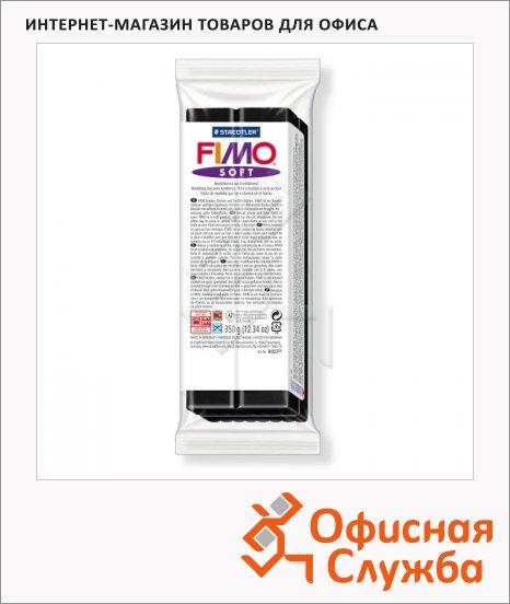 фото: Полимерная глина Fimo Soft черная 350г