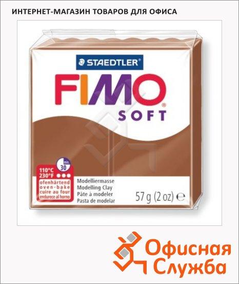 фото: Полимерная глина Fimo Soft карамельная 57г