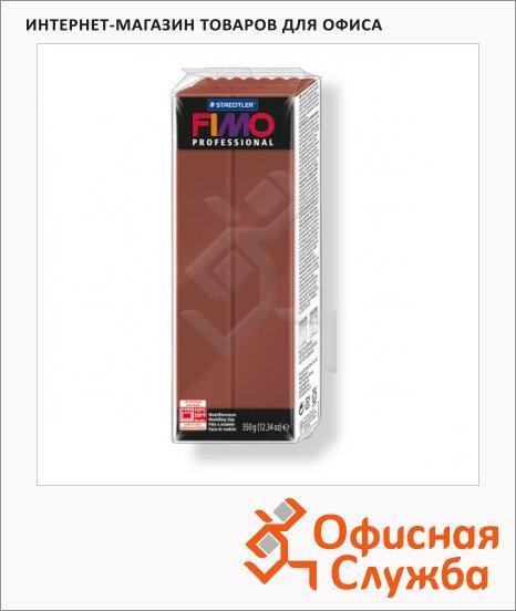 фото: Полимерная глина Fimo Professional шоколадная 350г