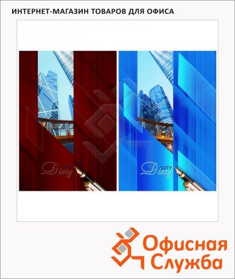 фото: Ежедневник недатированный Синий и красный А5, 136 листов