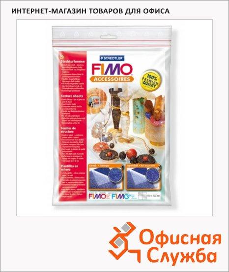 фото: Текстурные листы для полимерной глины Fimo Барокко/Стиль модерн 168х150мм, 2шт