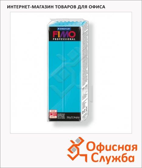 фото: Полимерная глина Fimo Professional бирюзовая 350г