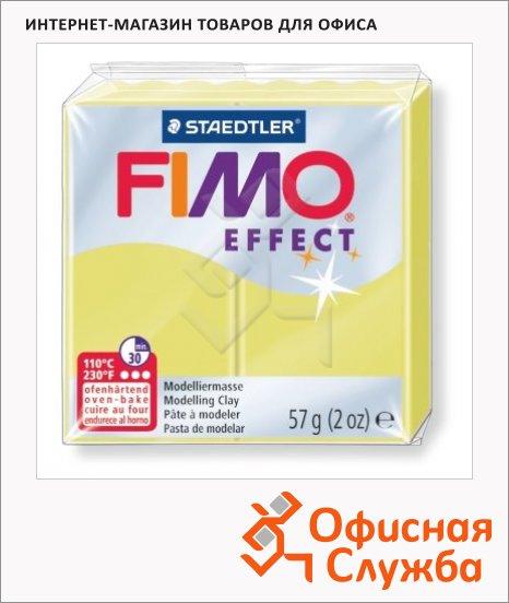 фото: Полимерная глина Fimo Effect цитрин 57г