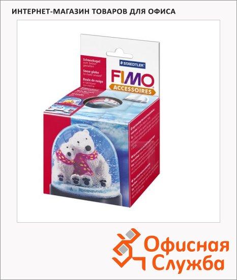 фото: Основа для снежного шара Fimo 90x75мм