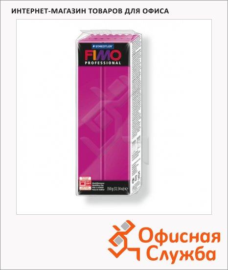 фото: Полимерная глина Fimo Professional чисто-пурпурная 350г