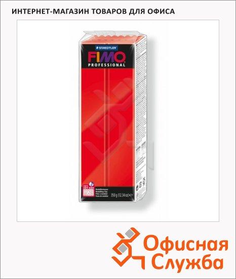 фото: Полимерная глина Fimo Professional чисто-красная 350г
