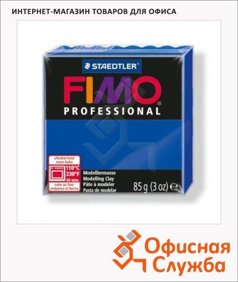 фото: Полимерная глина Fimo Professional ультрамариновая 85г