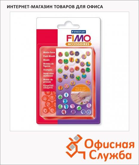 Формочки для литья Fimo ABC/123, 40шт