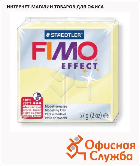 фото: Полимерная глина Fimo Effect ванильная 57г