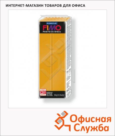 Полимерная глина Fimo Professional охра, 350г