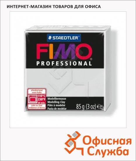 фото: Полимерная глина Fimo Professional серый дельфин 85г