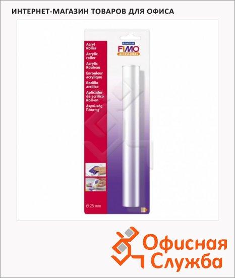 Акриловый ролик для раскатывания Fimo d-0,25см, L-20см