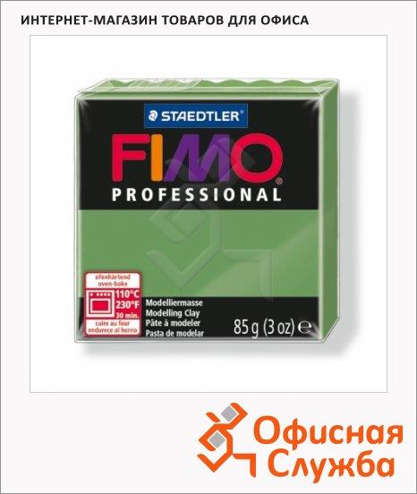 фото: Полимерная глина Fimo Professional зеленый лист 85г