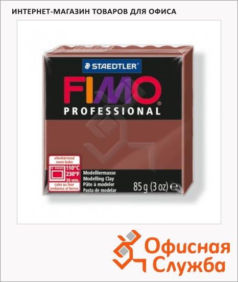 Полимерная глина Fimo Professional шоколадная, 85г