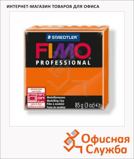 фото: Полимерная глина Fimo Professional оранжевая 85г