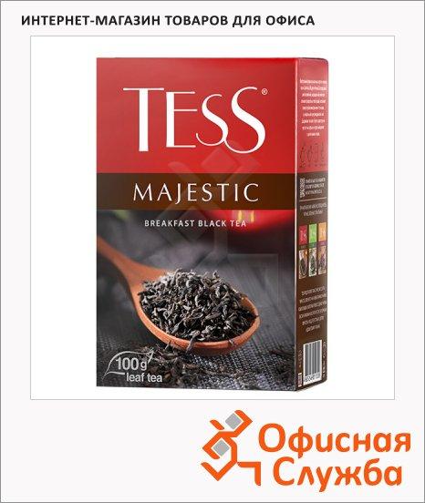 Чай Tess Pleasure Majestic (Маджестик), черный, листовой, 100 г