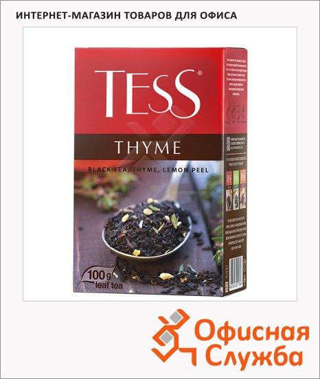 фото: Чай Tess Thyme (Чабрец) черный, листовой, 100 г