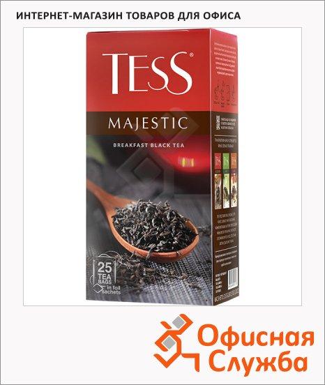 Чай Tess Majestic (Маджестик), черный, 25 пакетиков