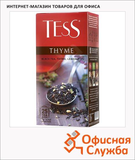 Чай Tess Tess Thyme (Тайм), черный, 25 пакетиков