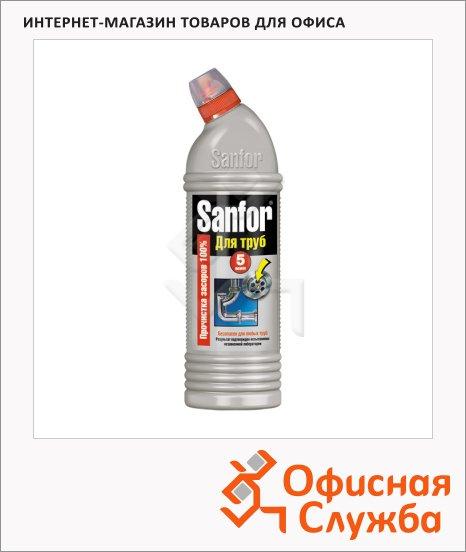 Средство для прочистки труб Sanfor 0.75л, гель