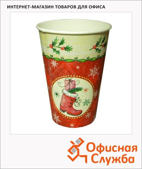 фото: Стакан одноразовый Papstar Рождественский рисунок 200мл 10шт/уп