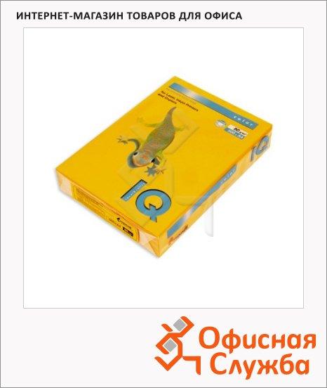 Цветная бумага для принтера Iq Color старое золото, А4, 80г/м2, AG10, 500 листов
