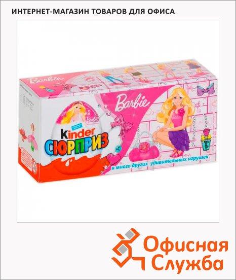 Шоколадное яйцо Kinder набор для девочек, 3шт х 20г