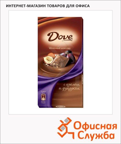 фото: Шоколад с фундуком и изюмом молочный
