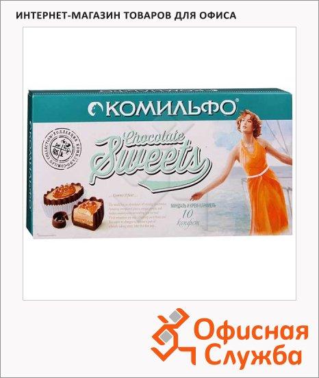Конфеты Комильфо миндаль и крем-карамель, 116г