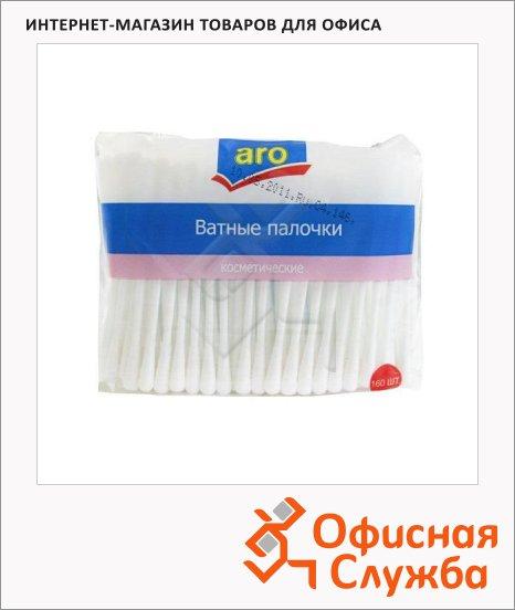 фото: Ватные палочки Aro 160шт в пакете