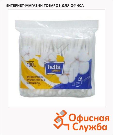 Ватные палочки Bella 100шт, в пакете