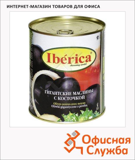 Маслины Iberica гигантские с косточкой, 875г