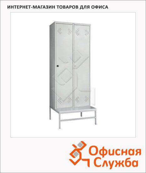 фото: Скамья-подставка Практик LS-21-80 ЛДСП