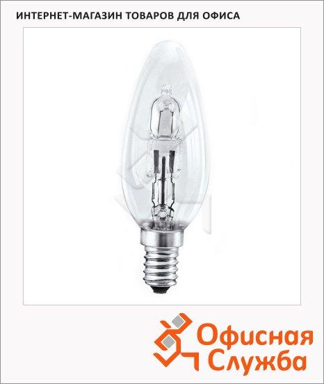 Лампа галогенная Osram Es B 46Вт, Е14, прозрачная