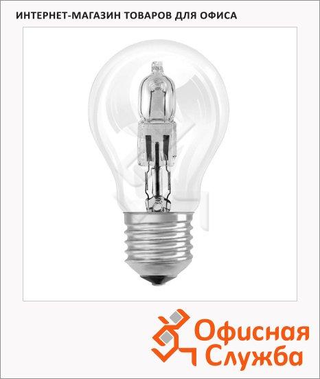 Лампа галогенная Osram Es A 57Вт, E27, теплый свет