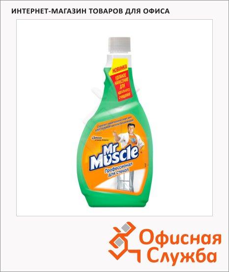 фото: Чистящее средство для стекол Мистер Мускул Профессионал 500мл запасной блок, зеленый
