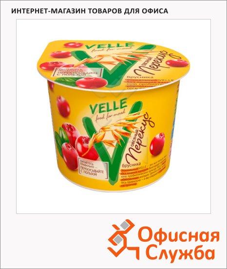 фото: Продукт овсяный Velle перекус с брусникой 140г