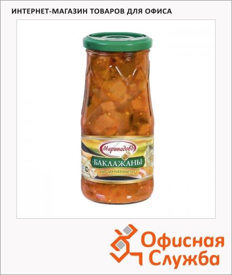 фото: Консервированные овощи Маринадовъ баклажаны по-домашнему 510г