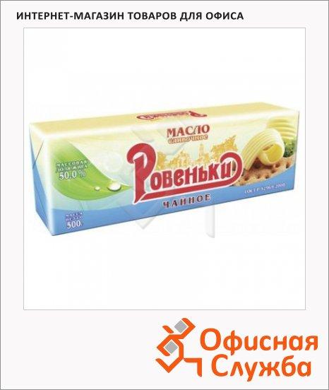 Масло сливочное Ровеньки Крестьянское 50%, 500г