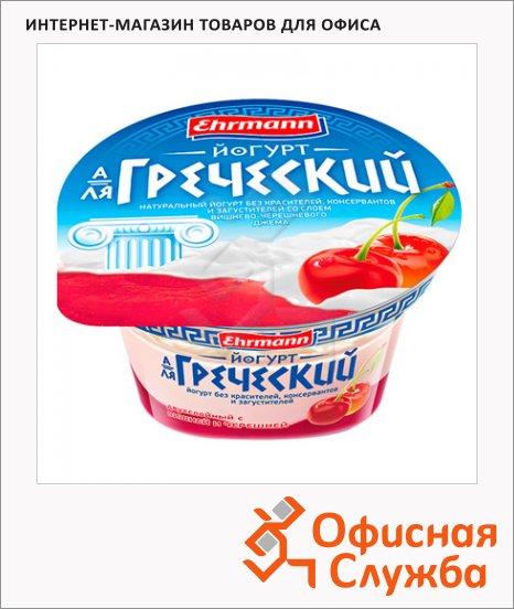 Йогурт А-Ля Греческий вишня-черешня, 140г