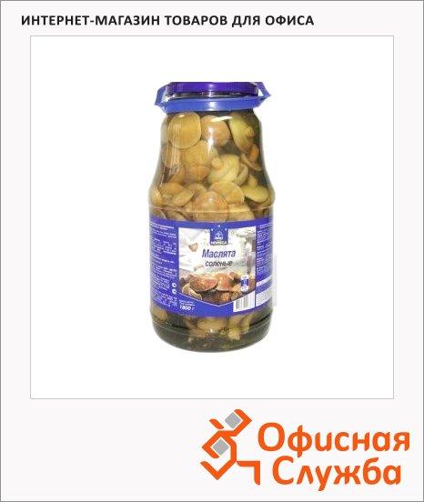 фото: Грибные консервы маслята соленые 1800г