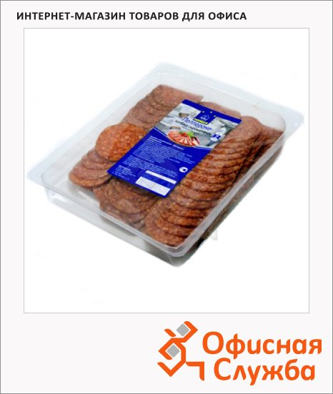 Колбаса Horeca сырокопченая Пепперони, 500г, нарезка