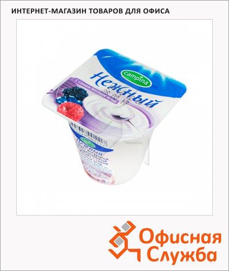 фото: Йогурт Нежный с соком лесных ягод 1.2%, 100г